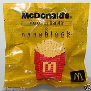Macdonalds Nanoblock Fries