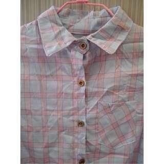 氣質格紋襯衫