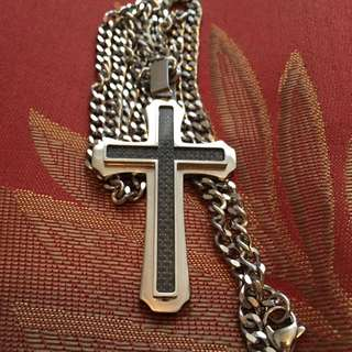 Solid Silver Cross