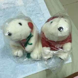 [全新]可口可樂 絕版北極熊娃娃