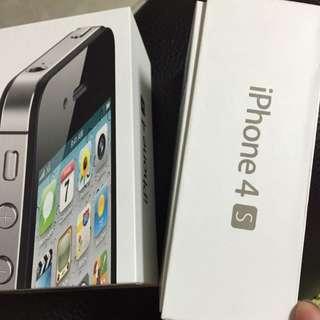 Apple IPhone 4S 黑色32G 白色16G 共兩隻