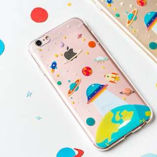 BN UFO Planets iPhone 6/6s Case