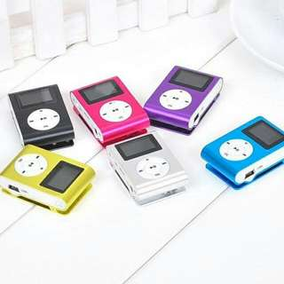 MP3 Player LCD