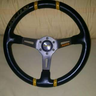 Original MOMO Drifting Steering Wheel