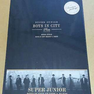 BEST PRICE !! Super Junior Boys in City Season 4. Paris (Premium Package) (Photobook+DVD) **free Gift  ^^