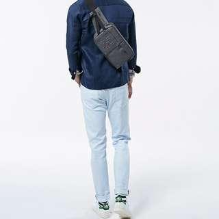 (全新品)7折 POTER 男 側包 肩包 腰包  專櫃正品 情人節禮物
