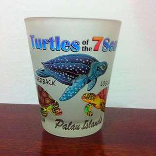帛琉帶回 烏龜 造型杯 SHOT杯
