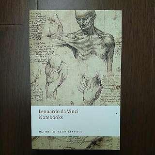 外文書:達文西 Notebooks