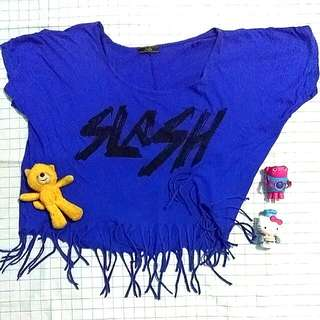 Slash Fringe Top