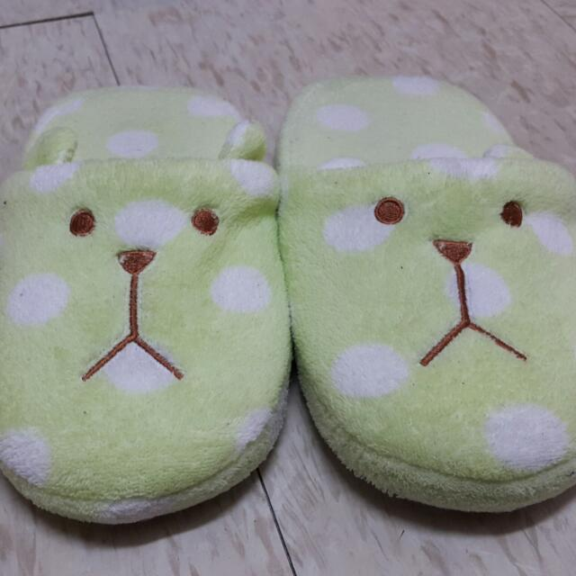 可愛絨毛拖鞋