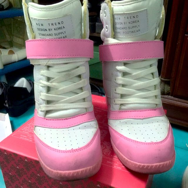 可愛粉紅內增高鞋🦄️🦄️🦄️