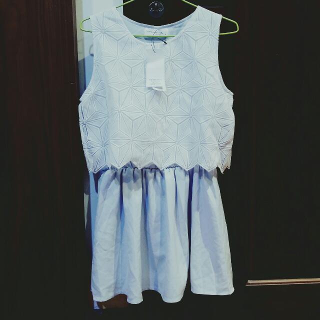 ✔ 天空藍洋裝