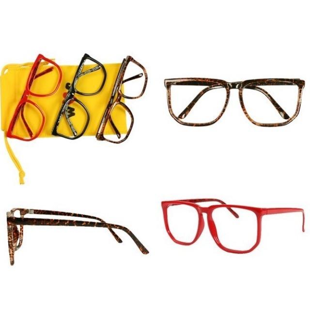 轉賣 日本專櫃 wc 若襯千夏 琥珀造型無鏡面眼鏡