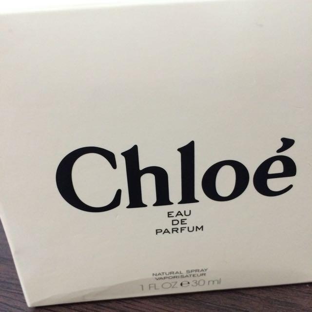 Chloe同名女性淡香水 全新