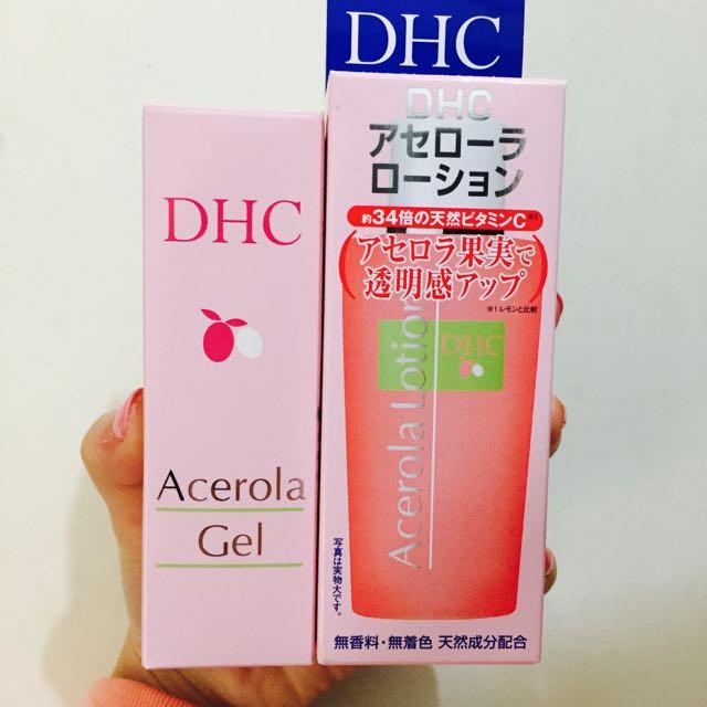DHC櫻桃果明C化妝水&櫻桃果明C凝露