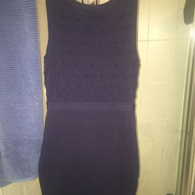 Forever New Dress Navy Blue Size 8