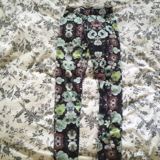 H&M Floral Leggings