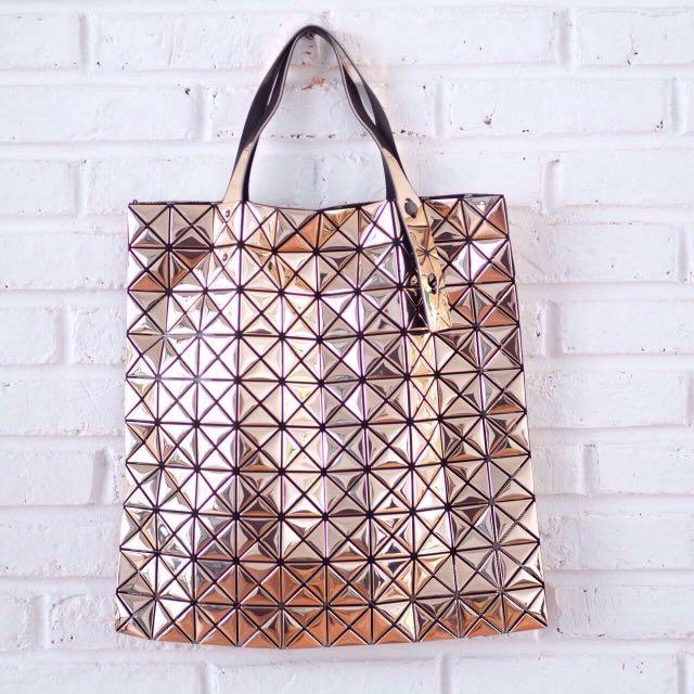 Platinum Issey Miyake Bao Bao Bag, 100 % Authentic