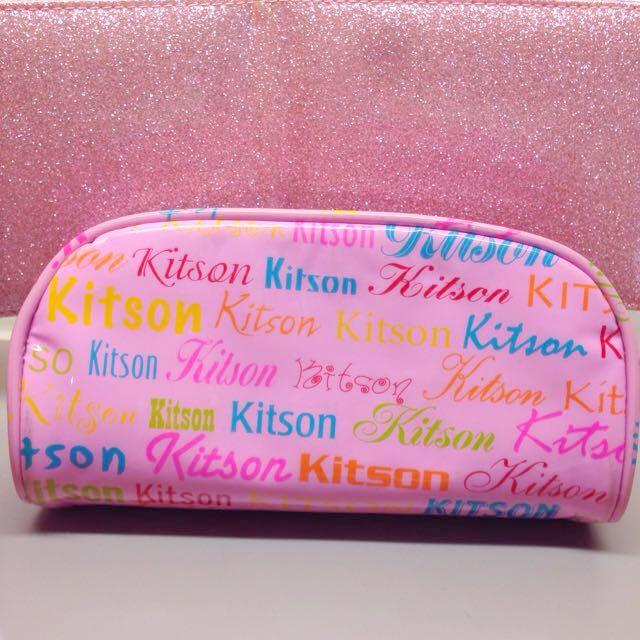 正品kitson手拿包