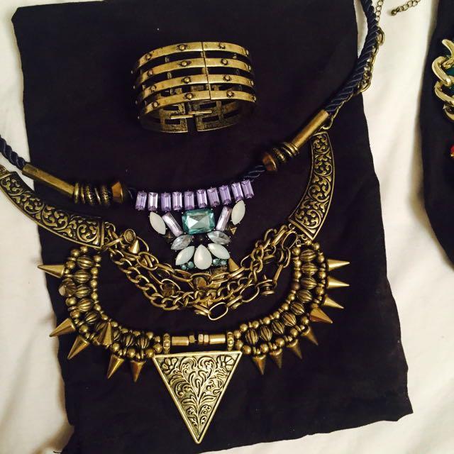 Lovisa Necklace And Bracelet