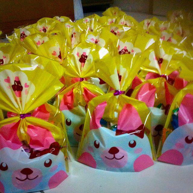 March Goodie Bag PromotionChildren Party Plastic