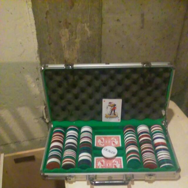 Poker Chip And Card Case