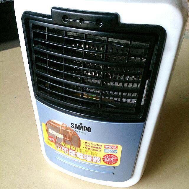 [二手]SAMPO小巧電暖器@聲寶