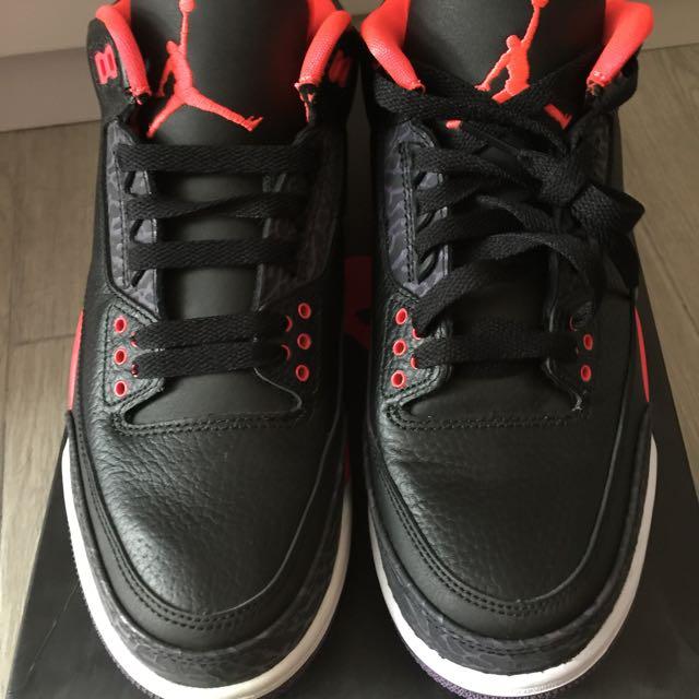8254267364868 Air Jordan III Bright Crimson