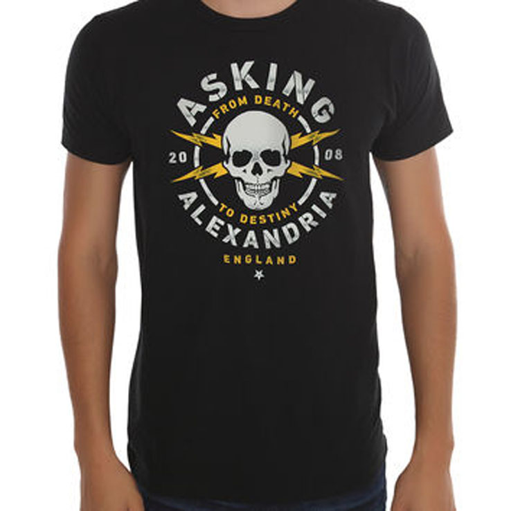 T-Shirt Asking Alexandria High Quality