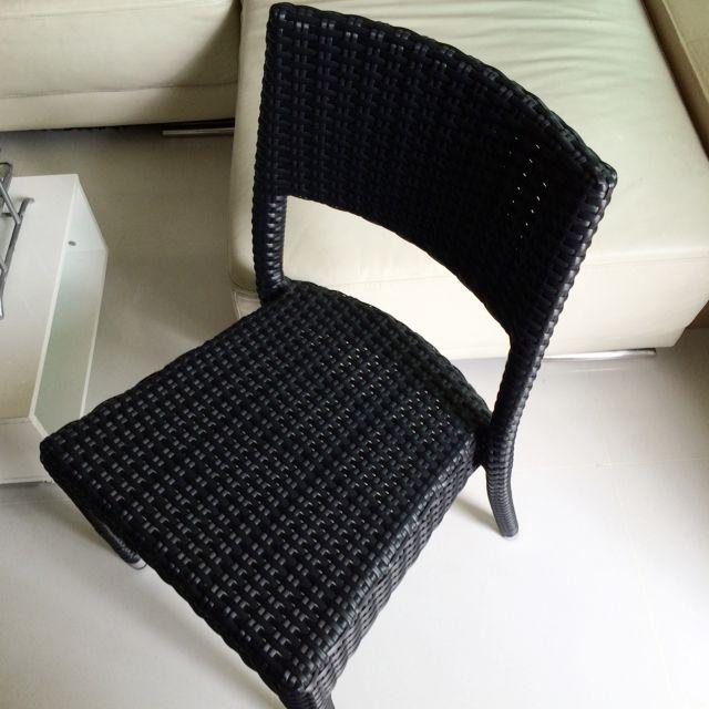 Used Outdoor Chair - Teak & Mahogany
