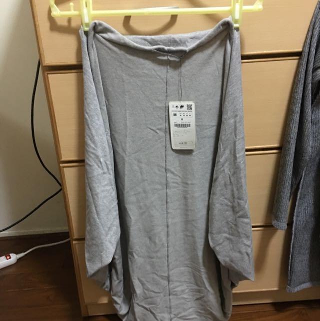 Zara飛鼠袖罩衫