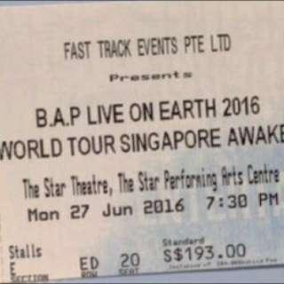 BAP LOE World Tour  2016
