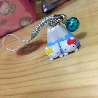 🚚 hello kitty富士山吊飾