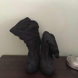 Black Carla Boots