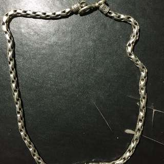 925純銀項鍊(只有帥而已)