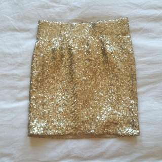 Sequin Bardot Skirt