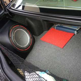 "Customised 12"" Subwoofer Box For 07'-10' Toyota Camry."