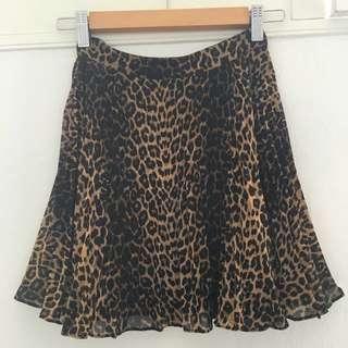 Forever New Leopard Print Mini Skirt