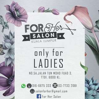 Hair Salon Only For Ladies