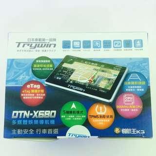 ✨全新 Trywin DTN-X680 多媒體導航機 市價最低3980
