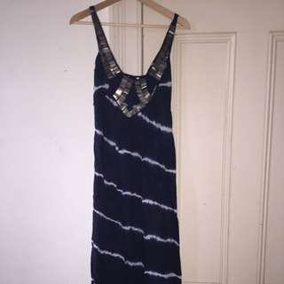 Long Beach Dress Size 8 Small