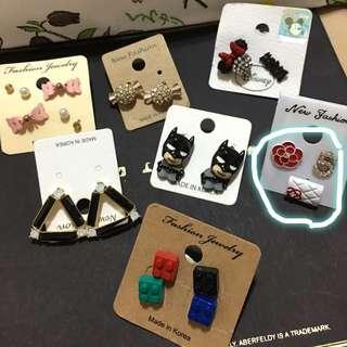 韓版小香造型耳環🎉出清降價