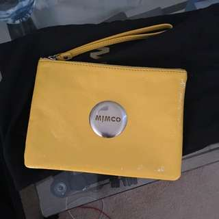 Mimco Mustard/yellow Pouch