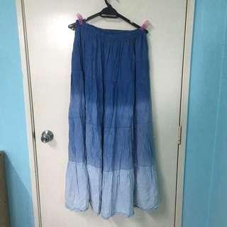Ombré Maxi Skirt