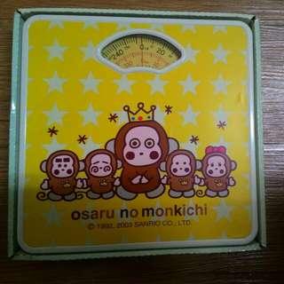 猴子體重計