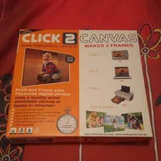 Click 2 Canvas Print Kit