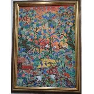 Master Painting (Bali bright & morning)