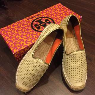 Tory Burch女款草編鞋