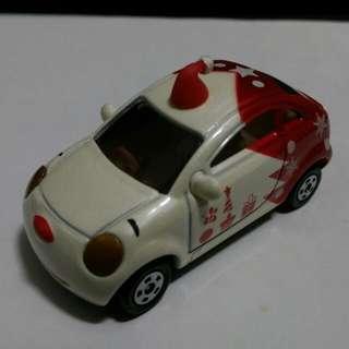 TOMICA  維尼  聖誕特別仕樣車  紅色版