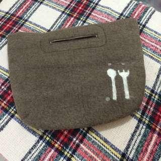 羊毛毯 袋 食物袋